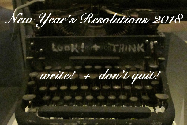 Happy New Year–and Happy Writing!