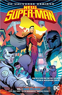 Cybils Review: NEW SUPER-MAN VOL. 1: MADE IN CHINA