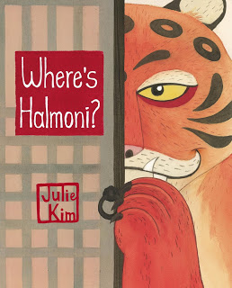 Cybils Review: WHERE'S HALMONI? by Julie Kim