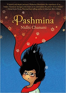 Cybils Review: PASHMINA by Nidhi Chanani