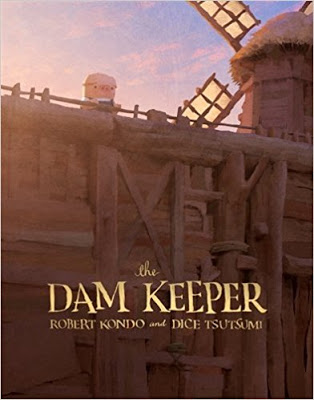 Cybils Review: THE DAM KEEPER by Robert Kondo and Dice Tsutsumi