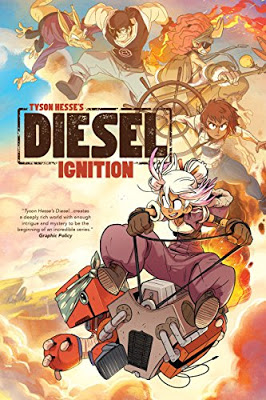Cybils Review: DIESEL: IGNITION by Tyson Hesse